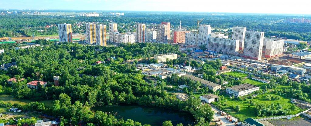 Московская область, г. Одинцово,  - Фото с квадрокоптера