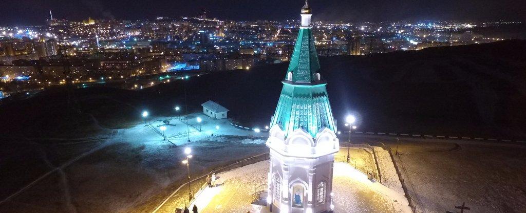 Grand, Красноярск - Фото с квадрокоптера