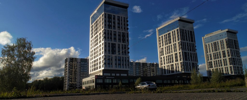 Жк Циолковский г. Обнинск, Обнинск - Фото с квадрокоптера