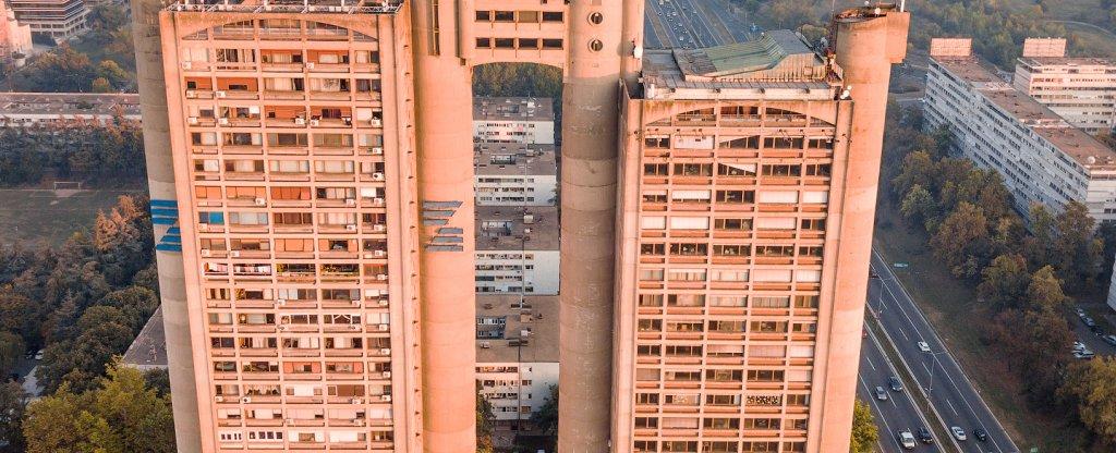 Genex Tower,  - Фото с квадрокоптера