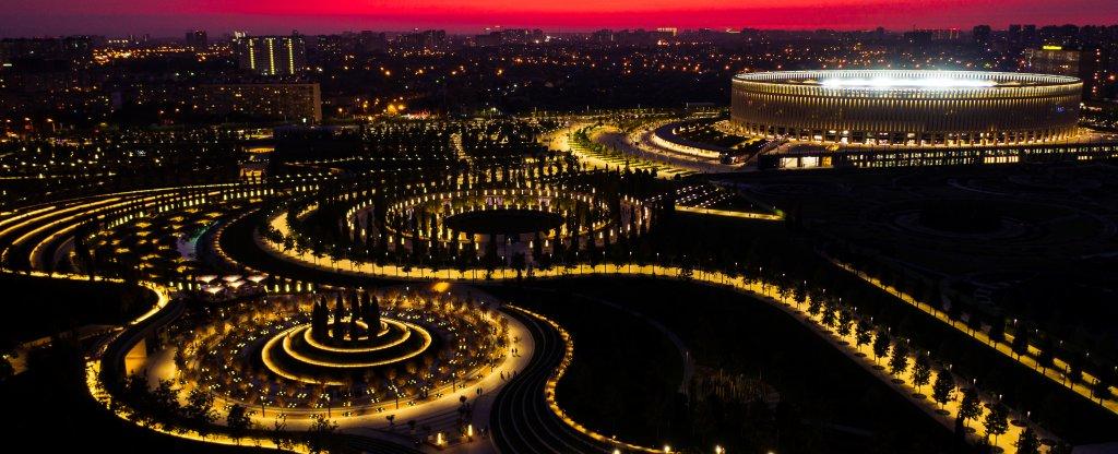 Закат, Краснодар - Фото с квадрокоптера