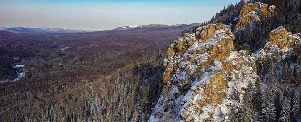 Урал,  - Фото с квадрокоптера