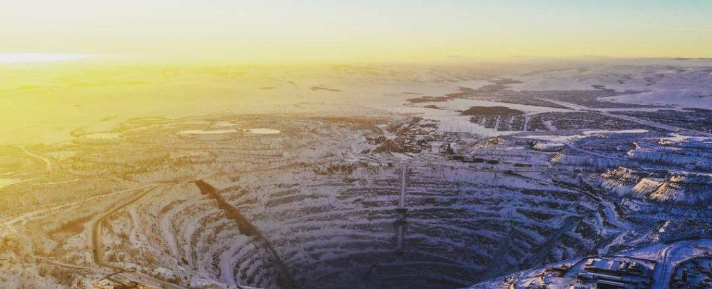 Сибайский карьер,  - Фото с квадрокоптера