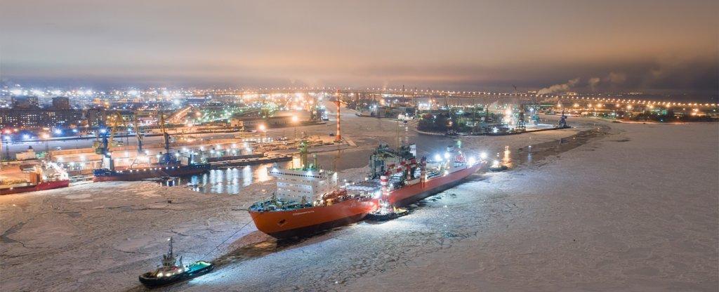 Севморпуть, Санкт-Петербург - Фото с квадрокоптера