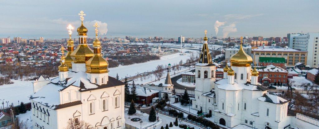 Свято-Троицкий мужской монастырь,  - Фото с квадрокоптера
