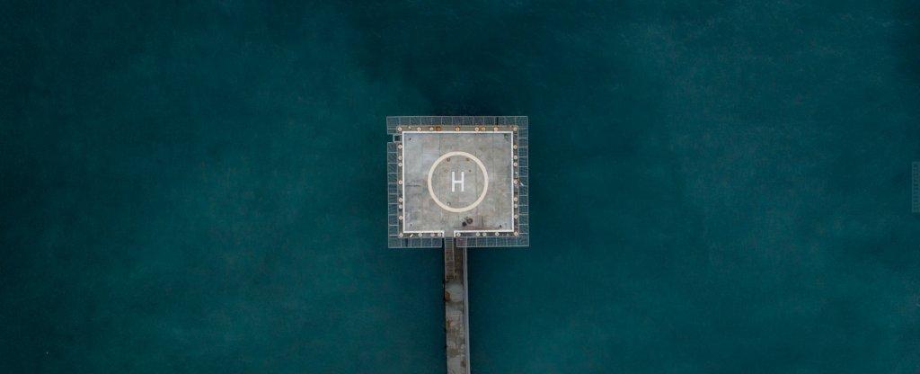 helipad,  - Фото с квадрокоптера