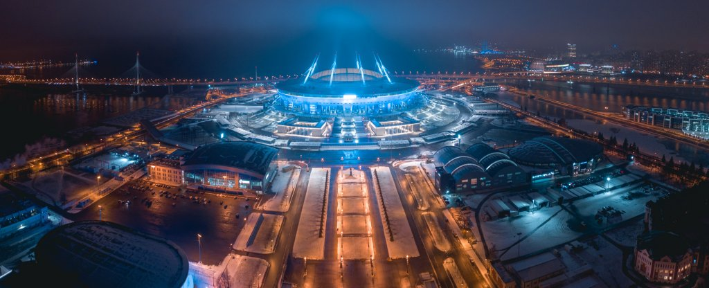 saint petersburg stadium,  - Фото с квадрокоптера