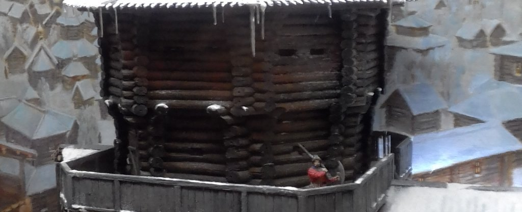 крепость,  - Фото с квадрокоптера