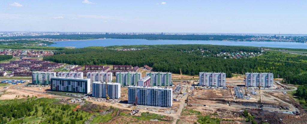 Аэропанорамы, Челябинск - Фото с квадрокоптера