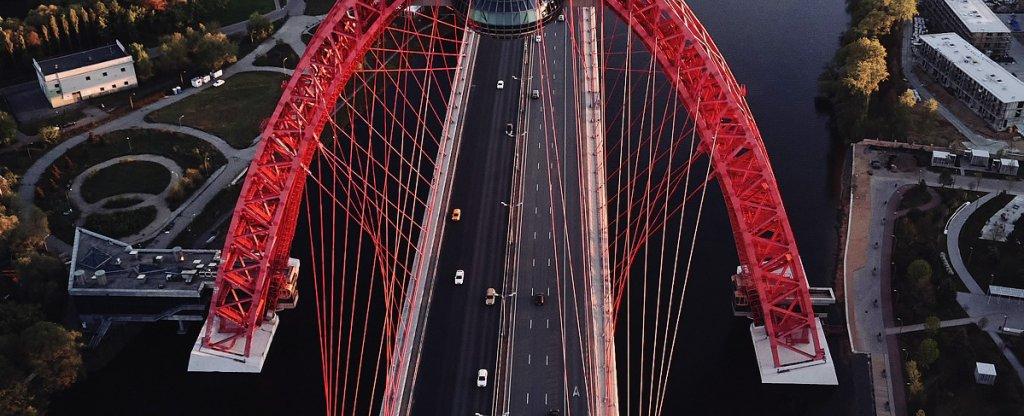 Bridge2, Москва - Фото с квадрокоптера