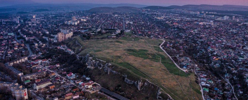 Неаполь Скифский, Симферополь - Фото с квадрокоптера
