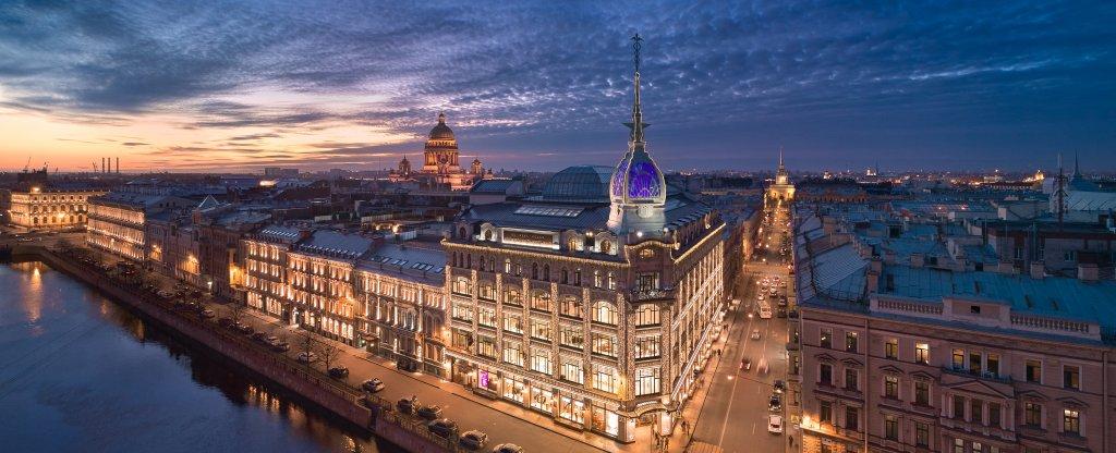 Дом у Красного моста, Санкт-Петербург - Фото с квадрокоптера