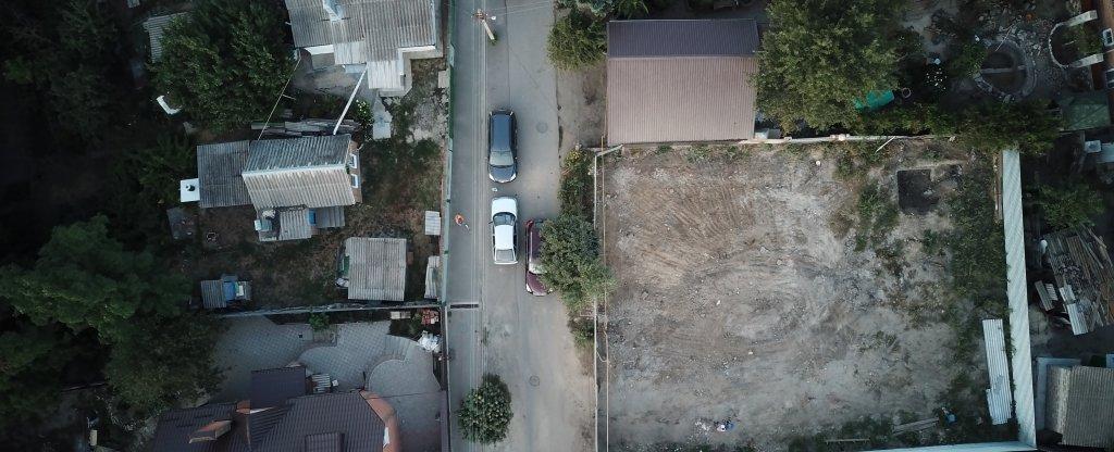 стройка,  - Фото с квадрокоптера