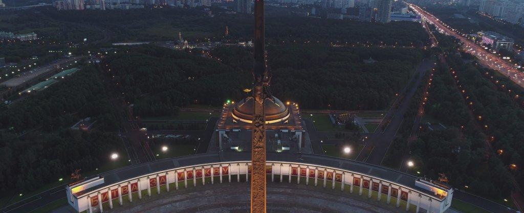 Поклонная гора, Москва - Фото с квадрокоптера