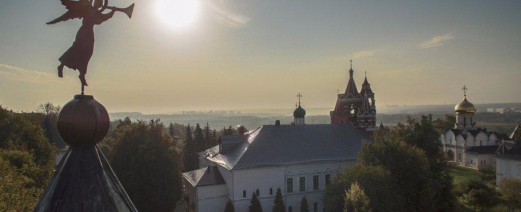 савиносторожевский монастырь,  - Фото с квадрокоптера