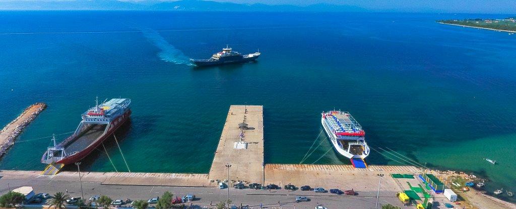 Тасос, Греция,  - Фото с квадрокоптера