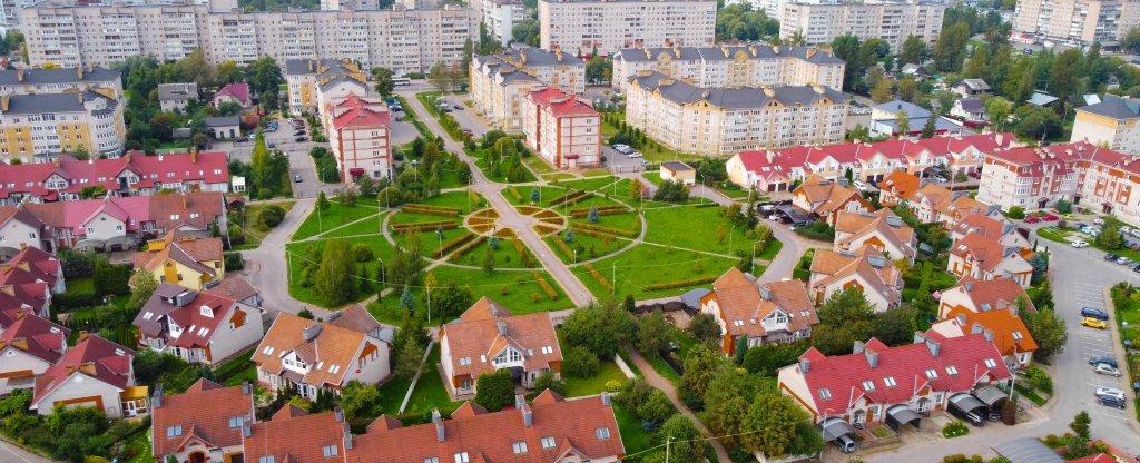 Белый город, Великий Новгород - Фото с квадрокоптера