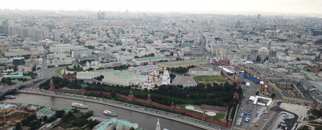 Красоты Москвы, Москва - Фото с квадрокоптера