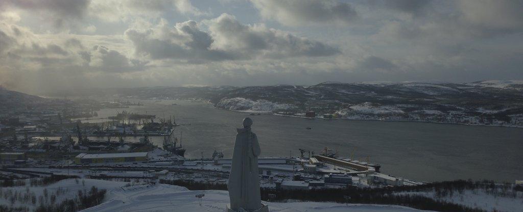 Мурманск,  - Фото с квадрокоптера