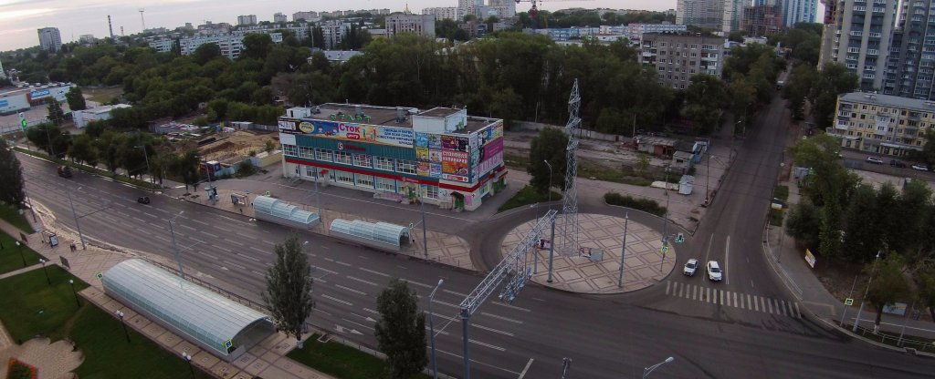 ТЦ Старт, Московское/Революционная, Самара - Фото с квадрокоптера