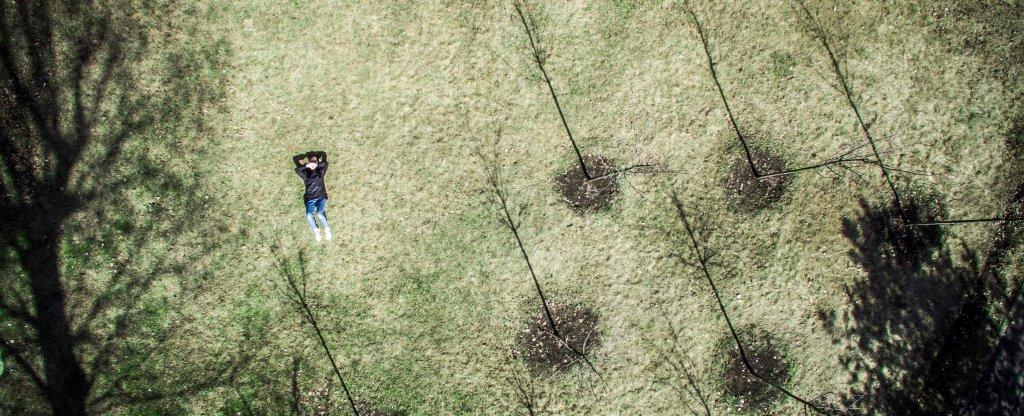 Весна,  - Фото с квадрокоптера