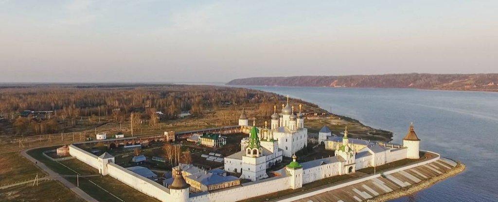 Макарьевский монастырь, Лысково - Фото с квадрокоптера