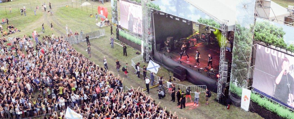 Рок-фестиваль Чернозем 2016, Тамбов - Фото с квадрокоптера