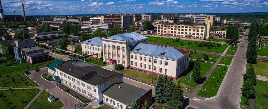 Завод ПАО Пигмент, Тамбов - Фото с квадрокоптера