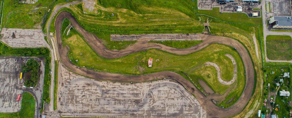 Автодром КВЦ, Тольятти - Фото с квадрокоптера
