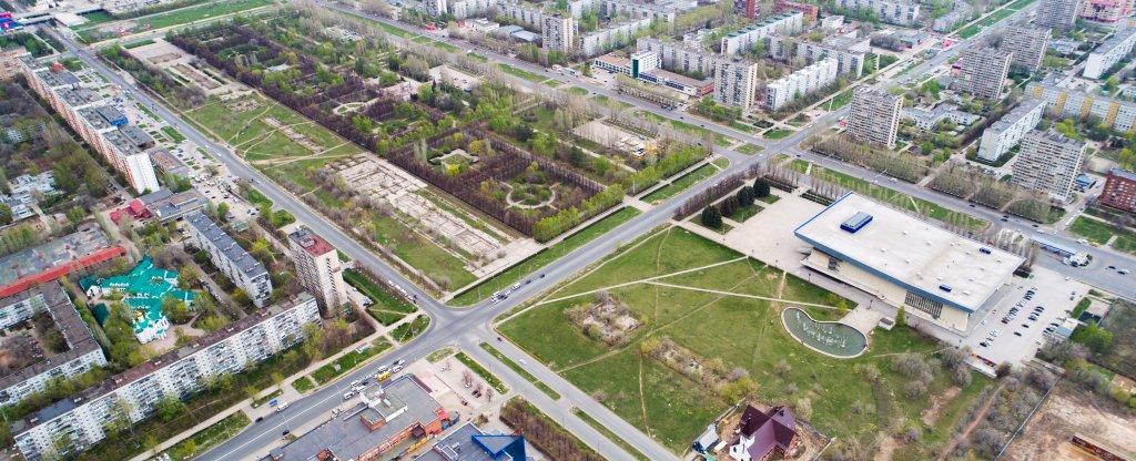 Тольятти, Тольятти - Фото с квадрокоптера