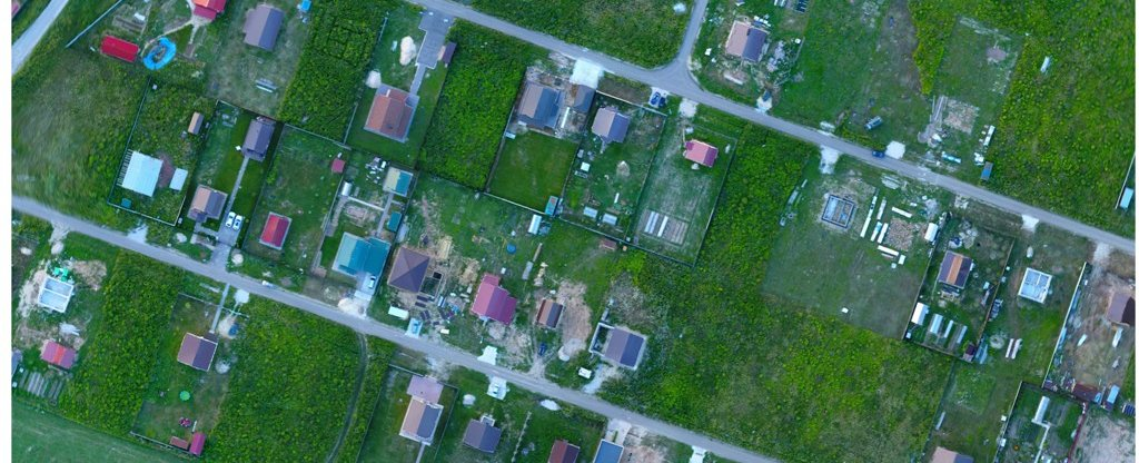 Топографическая съемка, Арзамас - Фото с квадрокоптера