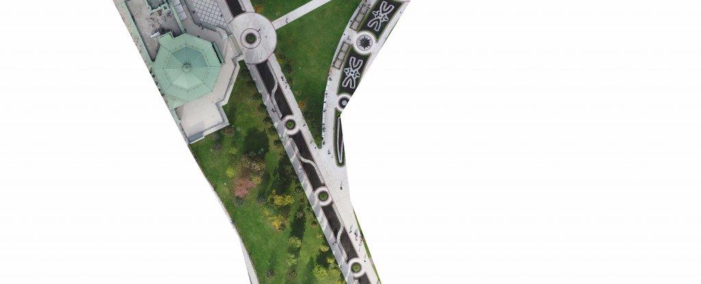 Ортофотоплан Царицыно, Москва - Фото с квадрокоптера