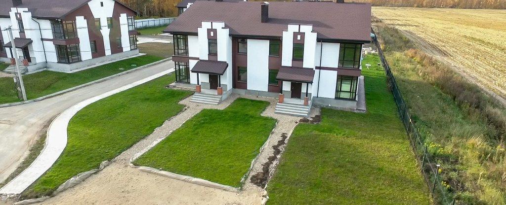 Аэросъемка коттеджных поселков, Нижний Новгород - Фото с квадрокоптера