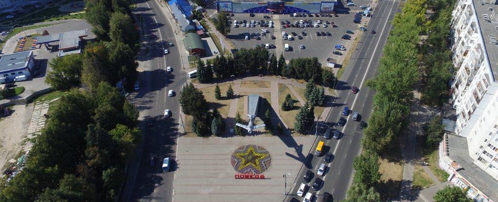 Самолет, Брянск - Фото с квадрокоптера