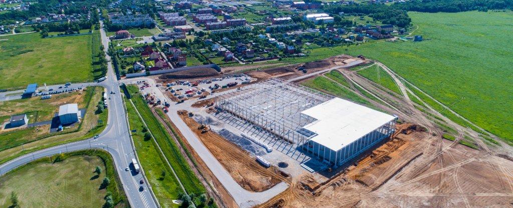 ПНК Групп - Аэрофотосъемка складского комплекса, Москва - Фото с квадрокоптера
