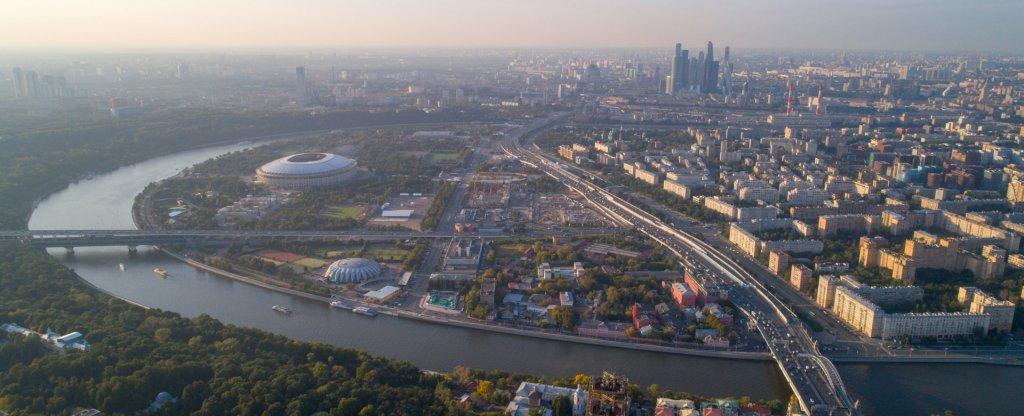 Художественная аэросъемка Москвы, Москва - Фото с квадрокоптера