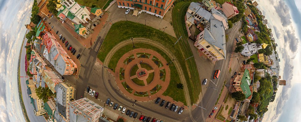 Планета Нижний Новгород,  - Фото с квадрокоптера