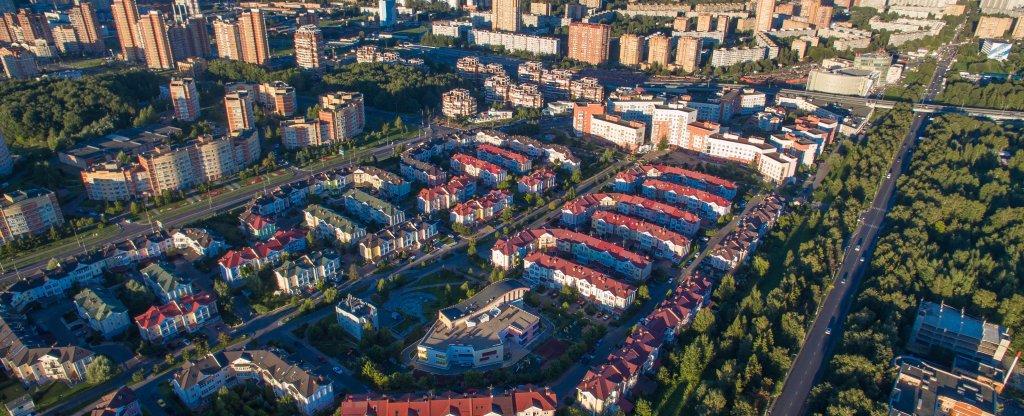 Куркино, Москва - Фото с квадрокоптера