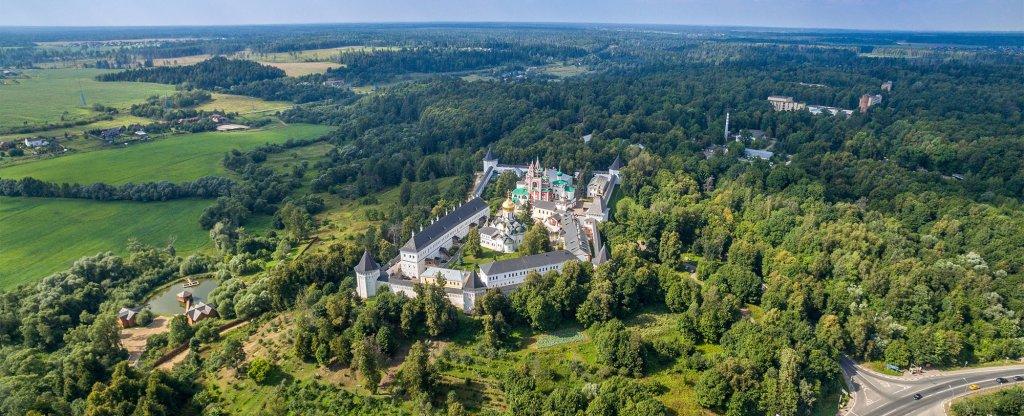 Звенигород, Звенигород - Фото с квадрокоптера