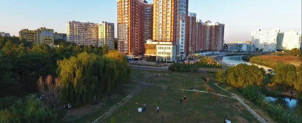 Шашлыки, Краснодар - Фото с квадрокоптера