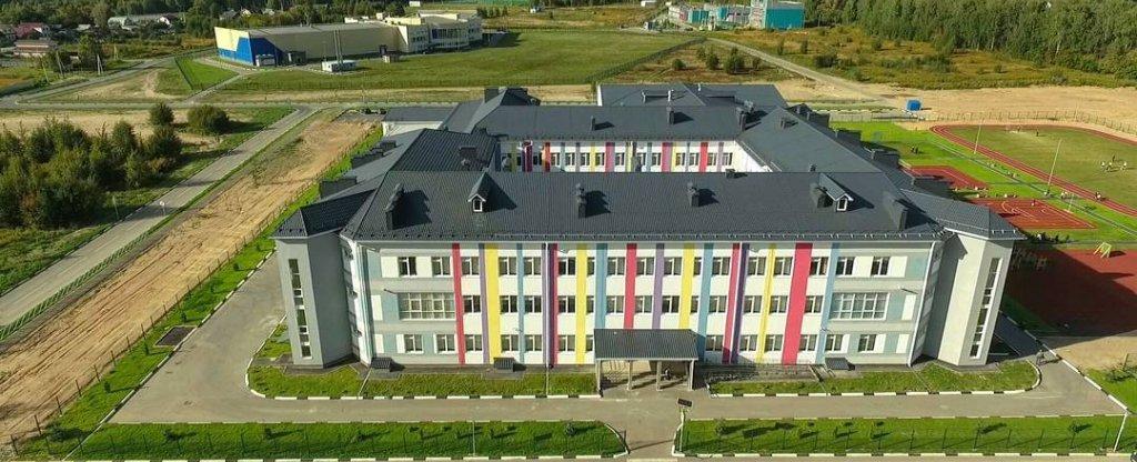 Школа #1 г.Бор, Нижний Новгород - Фото с квадрокоптера