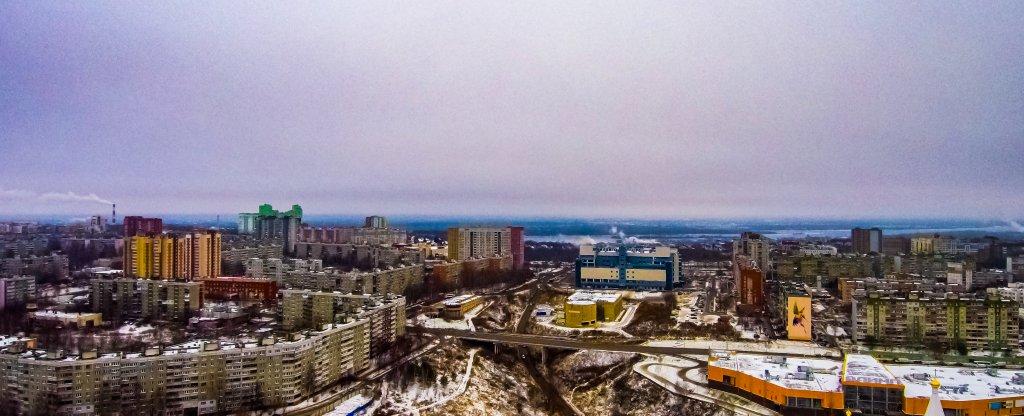Верхние Печёры, Нижний Новгород - Фото с квадрокоптера