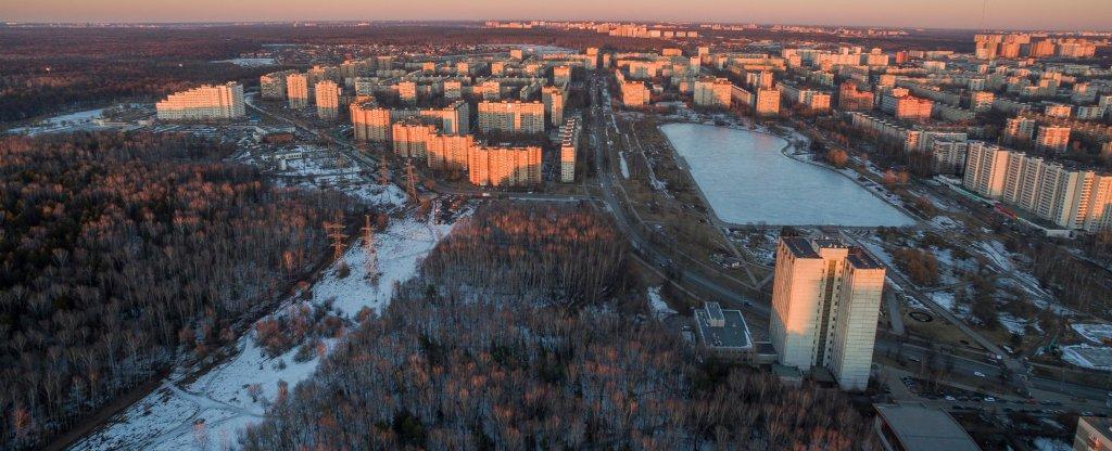 Гольяново, Москва - Фото с квадрокоптера