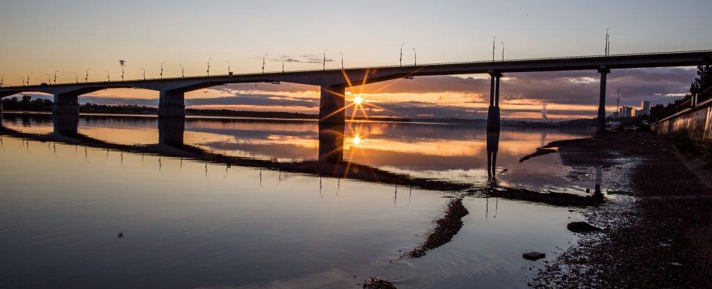 Отражение, Пермь - Фото с квадрокоптера
