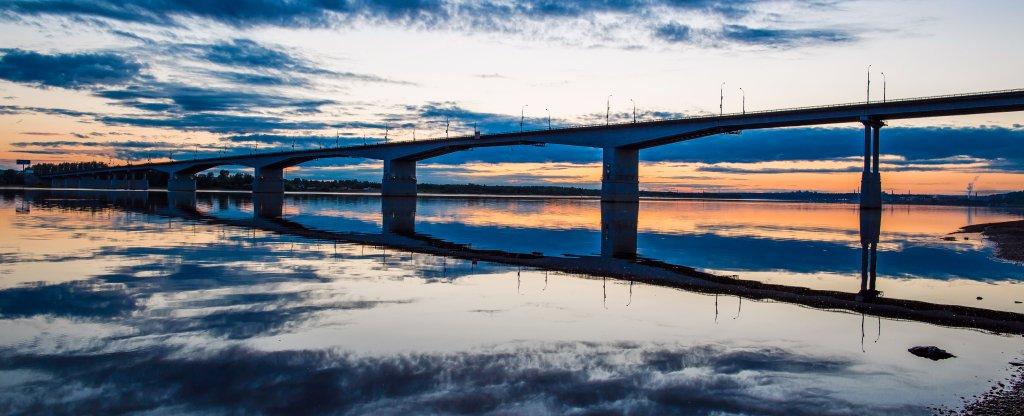 Зеркало, Пермь - Фото с квадрокоптера