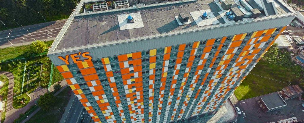 БЦ Ye's, Москва - Фото с квадрокоптера