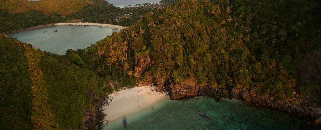 Рай на островах,  - Фото с квадрокоптера