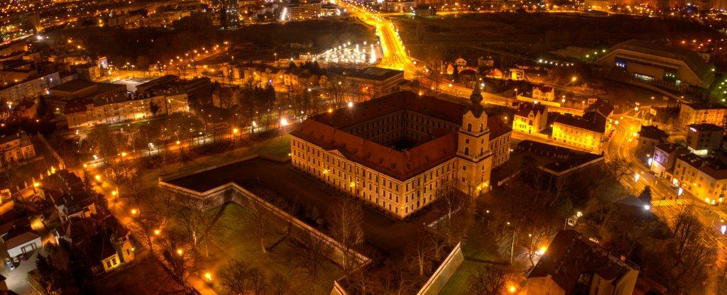 Жешувский Замок (Польша),  - Фото с квадрокоптера