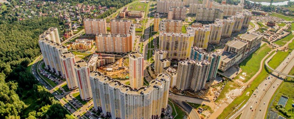 Солнцево-Парк,  - Фото с квадрокоптера