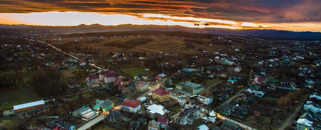 Черновцы,  - Фото с квадрокоптера